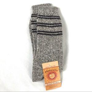 Minnesota Custom Woolens Angora Merino Wool Socks